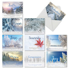 M6661XSB Holiday Devotions: 10 Assorted Blank Christmas Note Cards /Envelopes