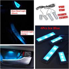 4Pcs/set Car Door Bowl Handle LED Ambient Atmosphere Light Interior Accessories