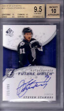 STEVEN STAMKOS 08/09 SP AUTHENTIC FUTURE WATCH RC AUTO 21/ 999 BGS 9.5 Gem Mint