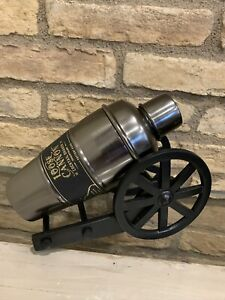 Pottery Barn Cannon Cocktail Shaker Mixer Stainless Steel ~ Bar Halloween New