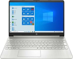 "HP 15.6"" FHD Touch-Screen Laptop AMD Ryzen 7 8GB 512GB SSD - 15-ef1013dx Silver"