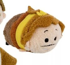 "DISNEY TSUM TSUM 3.5"" MINI BEAUTY & THE BEAST HUMAN FORM COGSWORTH CLOCK USA NEW"