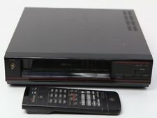 Vintage GE VHS VCR Video Cassette Recorder Tape Player VG-7610 w/ Remote Control