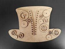 Mdf Top Hat Basque & cog Pack WR1056 20cm x 15cm Mixed media