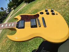 2019 Gibson SG Standard TV Yellow CME Limited Edition  w/ COA  6.6 lbs