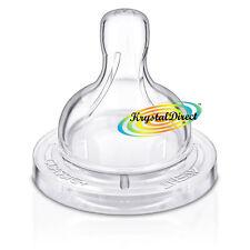 PHILIPS Avent SCF631/27 Classic 2pk neonato flusso tettarella 0m+ Airflex BPA libero