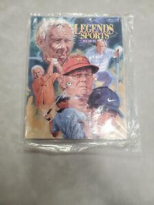 2001 Legends Sports Memorabilia Magazine Masters Legends Special Edition x4