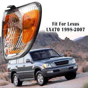 1Pcs Front Left Bumper Turn Signal Light Corner Lamp For Lexus LX470 1998-2007