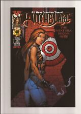 WITCHBLADE #40 NM- 9.2 BULLSEYE GOLD FOIL EDITION (GRAHAM CRACKERS) 2000