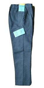 NEW Boys M&S School Trousers GREY Slim Fit Age 3-17 yrs Marks Ultimate Skinny