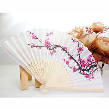 Wholesale Japanese Cherry Blossom Folding Hand Dancing Wedding Party Decor Fan