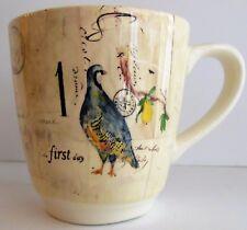 Williams Sonoma 12 Twelve Days of Christmas Replacement Mugs 1/2,  5/6