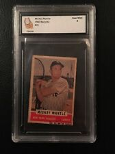 1960 BAZOOKA #31 Mickey Mantle Graded 8! Yankee Great Hall Of Fame