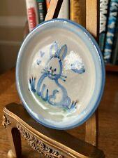 "M.A. Hadley Stoneware 4"" Handpainted Dish--Vintage"