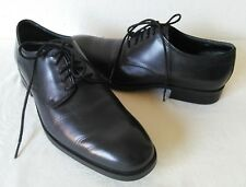 High Quality COLE HAAN  Men's Black Soft Leather plain toe oxfords Size 9.5 M