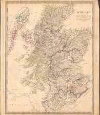 1841 ANTIQUE MAP- SDUK - SCOTLAND