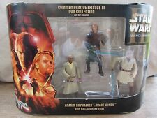 Star Wars-Commemorative Episode III  Anakin,Windu & Kenobi  NIB  (716DJ24) 85865