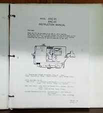 MIYANO ANC-35 INSTRUCTION MANUAL
