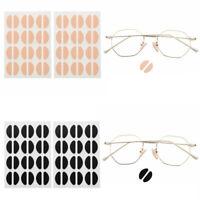 48Pcs Glasses  Eyeglass Sunglasses Nose Pads Foam Sticky Thin Grips Gaskets 19mm