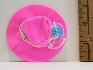 MATTEL Barbie SISTER STACIE CE PINK ROUND HAT ACCESSORY