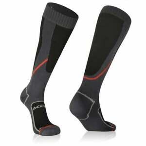 ACERBIS WATERPROOF LONG SOCKS NO WET BLACK MOTOCROSS MX ENDURO TRAILS NEW ADULT