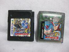 Lot 2 Rock Man X Cyber Mission & X2 Game Boy Color Nintendo JAPAN  Mega Man