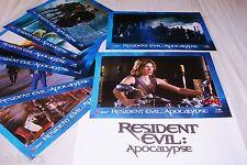 RESIDENT EVIL apocalypse ! Jovovich jeu photos cinema lobby cards fantastique