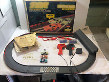 Vintage TCR Ideal Lighted Blazers Slot Cars Track Jam Car Stockers 1978 Slotless