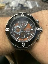 INVICTA PRO DIVER MASTER OF THE OCEANS MODEL 12367 BROWN DIAL RARE LARGE PRESENT