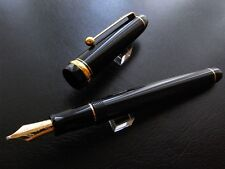 PILOT NAMIKI CUSTOM 74 PLUME MUSIQUE OR 14 CARATS 14K GOLD MUSIC NIB FOUNTAINPEN