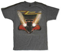 """ZZ TOP """"ELIMINATOR DISTRESSED S/S"""" GREY T-SHIRT NEW SOFT OFFICIAL ADULT"""