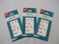 3 Cards Of Nail Art Decals Material Girl Mix New