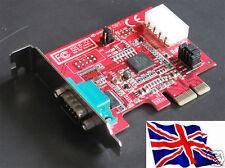 Rs232 1 PCIe Serial Pci Express Lp bajo perfil 16c950