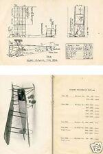 Avro 504 World War I Biplane Historic Manual archive 1915 WWI WW1 VERY RARE