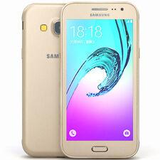Nuovissimo Samsung Galaxy j3 sm-j320fn 8gb * 2016 * sbloccare ORO 4g LTE Smartphone