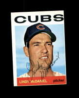 Lindy McDaniel Hand Signed 1964 Topps Chicago Cubs Autograph