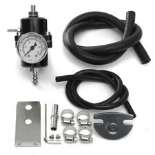 Universal Kfz Benzindruckregler einstellbar Kraftstoffdruckregler mit Manometer