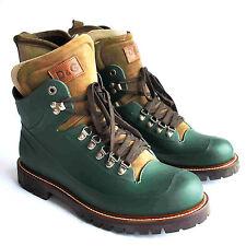 NEW ❊ D&G Dolce&Gabbana ❊ 65% off ❊ Men's Rare Rubber Boots ❊ Khaki Brown EU 43