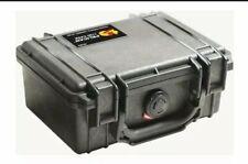 1120 Pelican Camera Cases Case withFoam (Black) waterproof...NIB !!