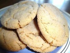 HOMEMADE DELIGHTFULLY DELICIOUS SOFT & CHEWY PEANUT BUTTER COOKIES (2 DOZEN)