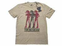 Lucky Brand Jean Men L Vintage Yellow Tim McGraw Tour Country Music T-Shirt  Soul bb10c75ade1d