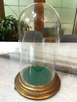 7.75 x 4.5 in Vintage Glass Display Case//Dome for specimens//special objects etc