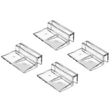 Fish Tank Glass Cover Clips Clear Glass Support Holder Hood Clips Clamp Bracket