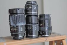 Minolta AF 50mm,28-85mm,135mm F2.8 and 28-135mm lenses  for Minolta and Sony A