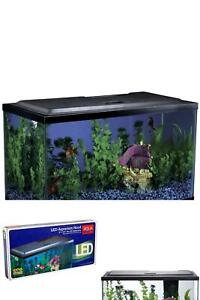 10 Gallon Aquarium Hood Fish Tank Top Lid With LED Light NEW FreeShippi