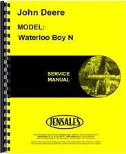 John Deere Waterloo Boy N Tractor Service Manual (1991) Jd-Waterloo