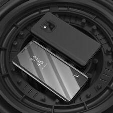 Per Samsung Galaxy A9 A920F Cancella View Smart Cover Nero Custodia Svegliati