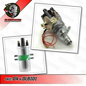 45D Electronic Distributor and Lucas DLB101 3.0 Ohm Ignition Coil