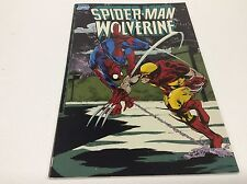 SPIDERMAN vs. WOLVERINE TRADE PAPERBACK (MARVEL/1990/0816267)