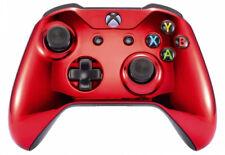 Chrome Red Xbox One S / X Custom UN-MODDED Controller Unique Design